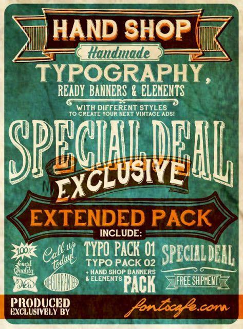 30 Free Vintage and Retro Fonts. #fonts #retro