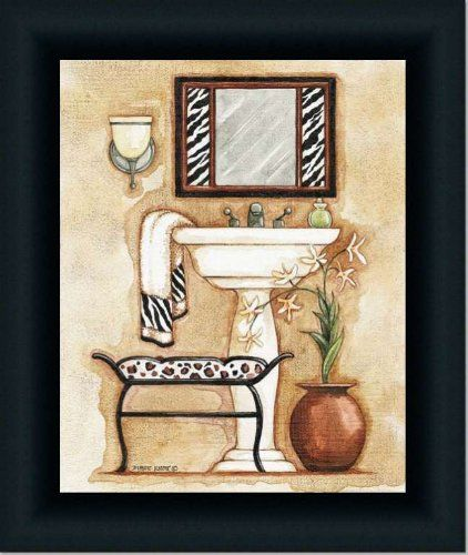 Kind of a fun picture to go in a bathroom decorated in this design