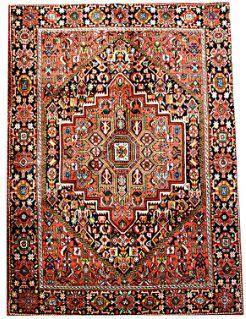 Very #luxurious #Gholtogh #Bidjar #Online  Semi-Tribal Persian rug, densely woven in intricate geometric Hereti / Bidjar motif.  Very Sturdy and solid rug.