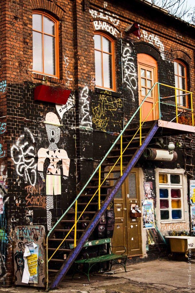 Alternative Berlin. Graffiti in Kreuzberg