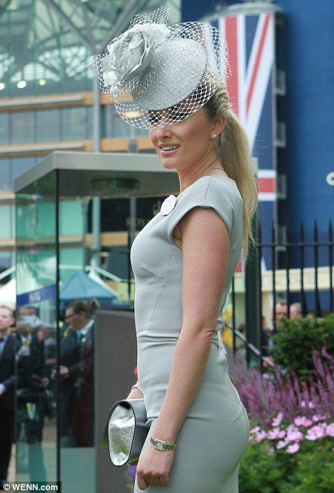 Hats what I call a fashion parade! Enormous flowers, huge peacock feathers and giant paintbrushes adorn the headgear at Ascot Ladies' Day | Mail Online