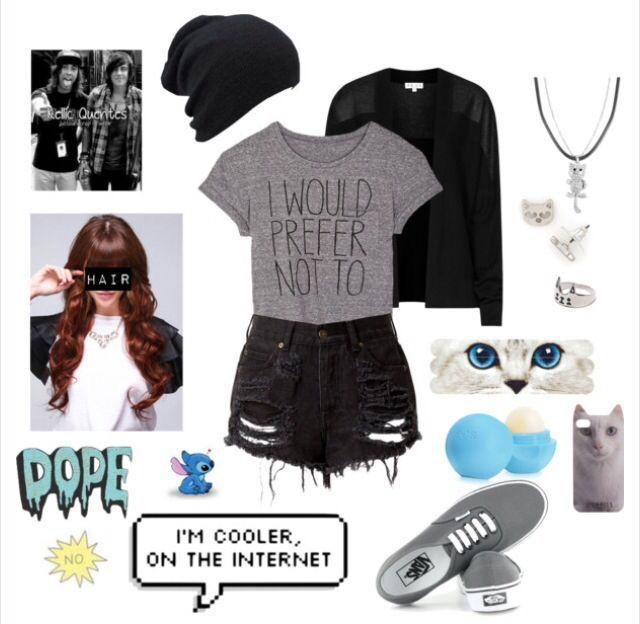 Polyvore, fashion, scene, punk rock, punk, emo, cute, kitty cat, clothing. #EmoFashion