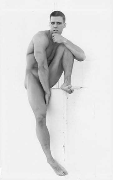 Nude Male Art Model 54
