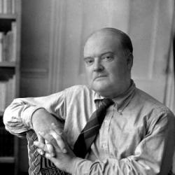 """Edmund Wilson, pre-eminent writing critic of early 20th century, nails the rewards and angry 'book-tossing' reactions that anyone who has read (and actually gotten all the way through) James Joyce's """"Ulysses"""" feels [from TNR's """"The Book"""" archives].: Angry Book Toss, Edmund Wilson, Book Reviews"""