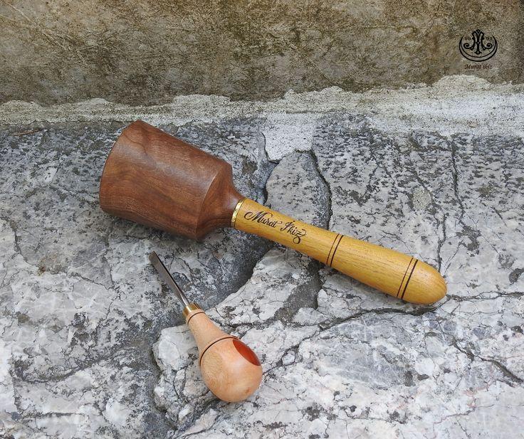 Ahşap Oyma da Kullanılan tokmak ve kestirme kalemi