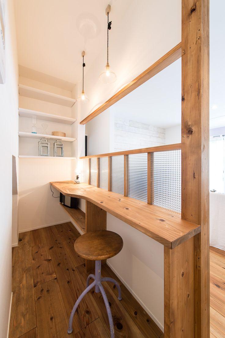 戸建てリノベモデルハウス RENONE リビング#takanohome#タカノホーム#福岡#リノベーション#renovation#戸建てリノベ#モデルハウス#無垢材#自然素材の家#ていねいな暮らし#リビング#living-room