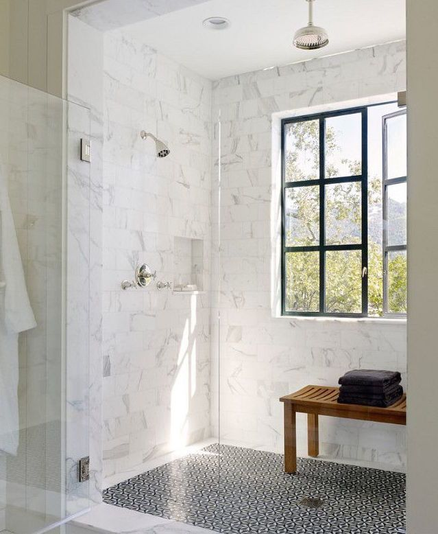 Bathroom Comely White Bathroom Decoration Using: 25+ Best Ideas About Shower Tile Patterns On Pinterest