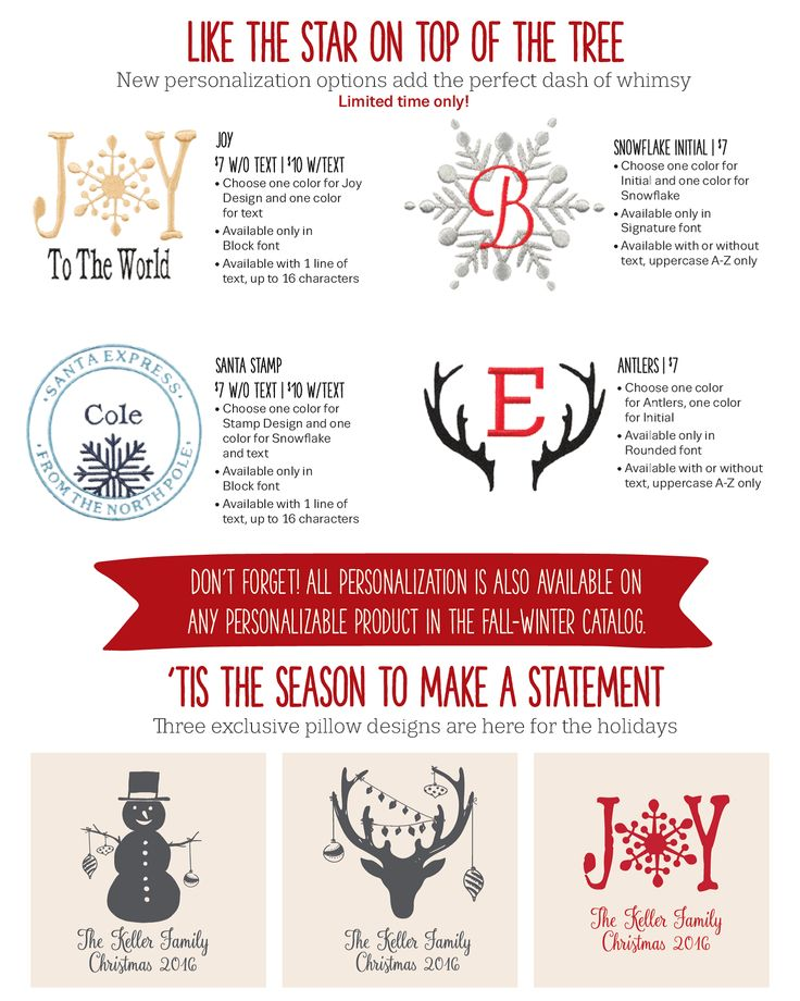 Holiday Gift Guide from Thirty-One Gifts! Add personalization!