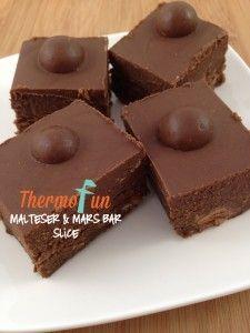 ThermoFun – Wicked Wednesday – Malteser and Mars Bar Slice Recipe