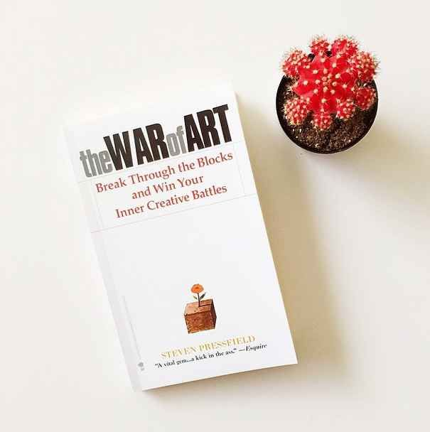 The War of Art , by Steven Pressfield | 37 Books Every Creative Person Should Be Reading