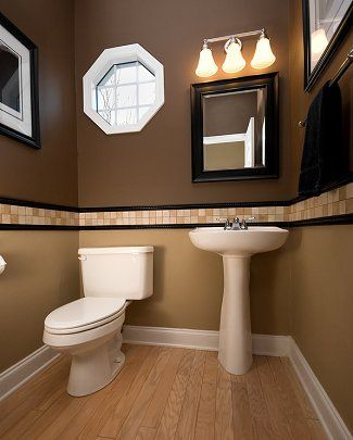 Bathroom Home Decoration / Bathroom Small Powder Room Ideas