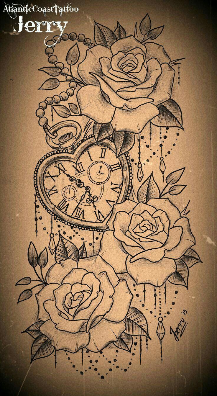 Bellissimo disegno per un tattoo