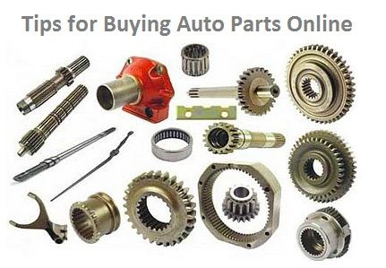 Essential Tips for Buying Auto Parts Online