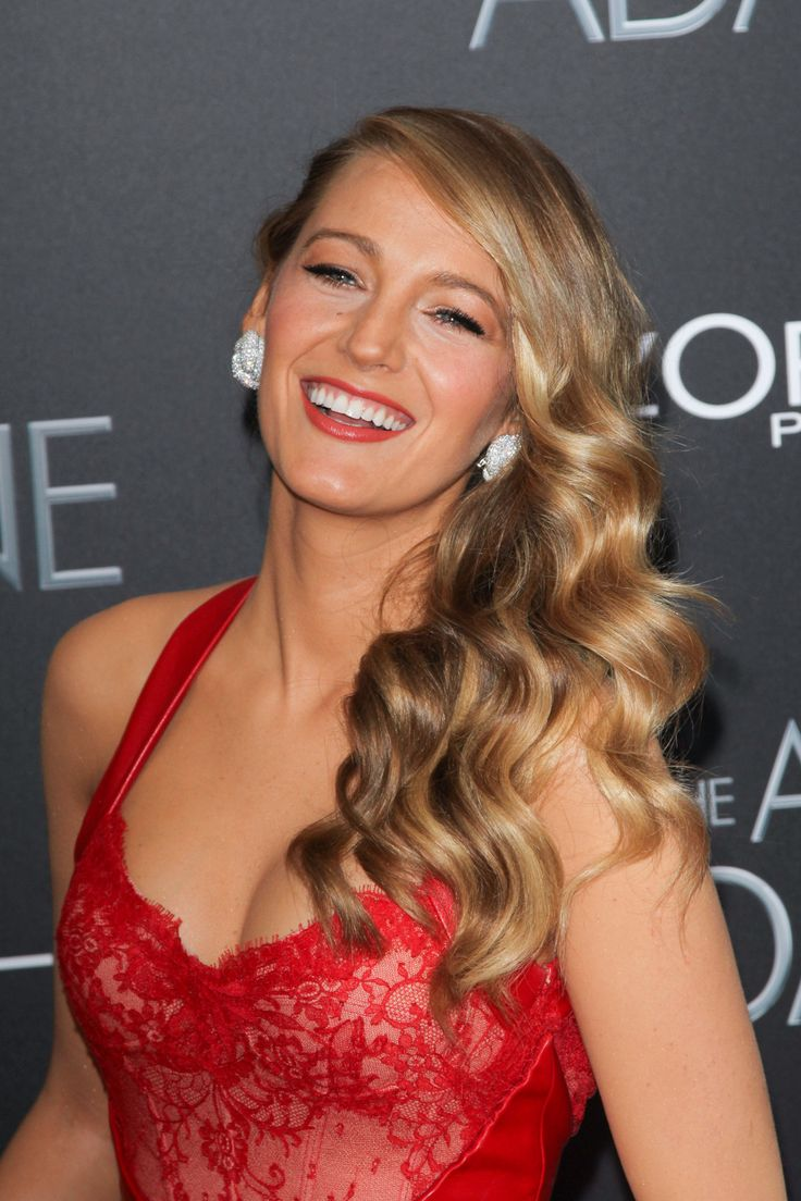 Blake Lively at the premiere of her most recent film, The Age of Adaline