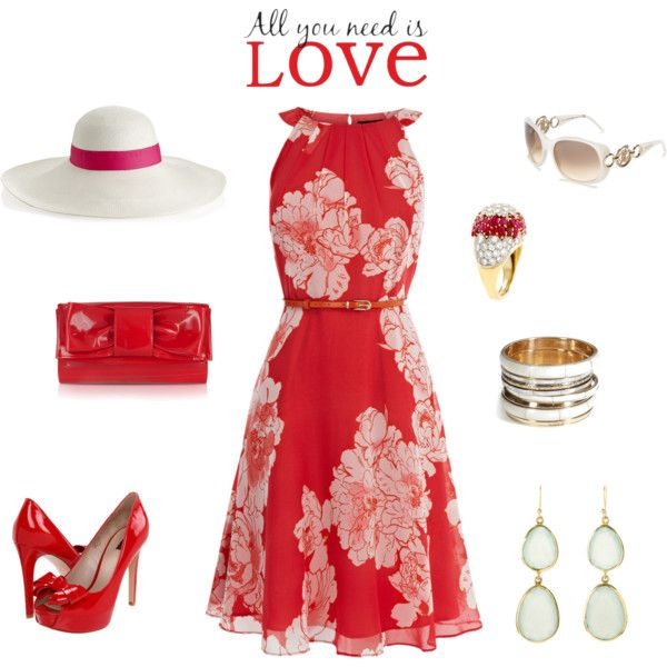 Ravishing Red, created by dana-corsbie on Polyvore