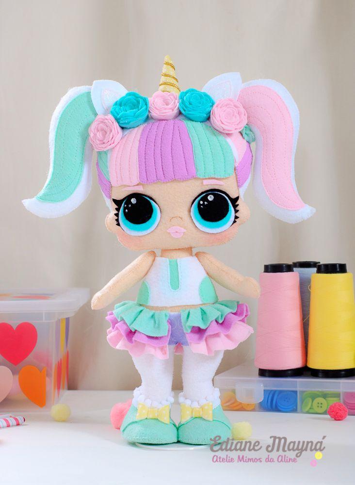 Boneca Lol unicorn