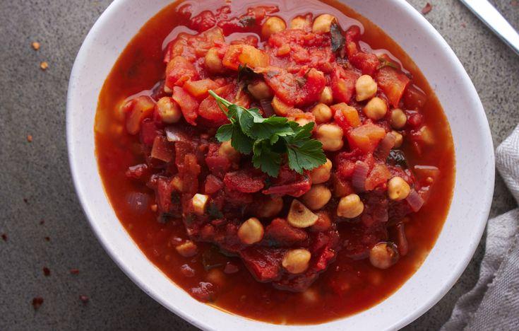 Chickpea Tomato Soup!