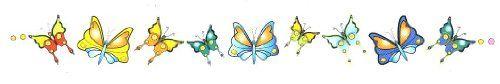 "Butterflies Lower Back or Armband Temporary Body Art Tattoos 1"" x 6"" TMI http://www.amazon.com/dp/B008PJXNLG/ref=cm_sw_r_pi_dp_YIabwb13TDBZN"