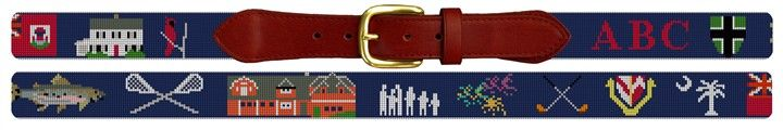 Life Treasures Custom Needlepoint Belt Kit | NeedlePaint