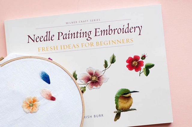 Needle painting practice motifs by alexishelmrath, via Flickr