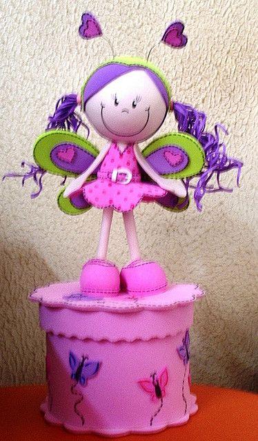 Fofucha Borboleta by Maria Joaninha by Cidinha, via Flickr