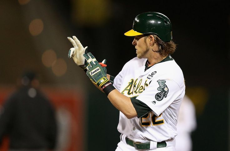 "Give Josh Reddick a gold star for his Warriors fandom:  The right fielder checked the A's Oracle Arena neighbors' schedule early and noticed that the teams shared a home date Wednesday, with Oakland playing during the day.  On Wednesday, such tickets were going for more than $10,000 with the Warriors playing for the NBA record for wins in their season finale.  Some of his A's teammates were urging Reddick to sell and then watch the game on TV.  ""The Warriors gave me a jersey with 16 on it a…"