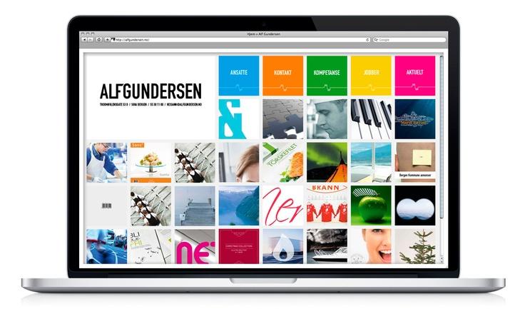 Web Alf Gundersen.