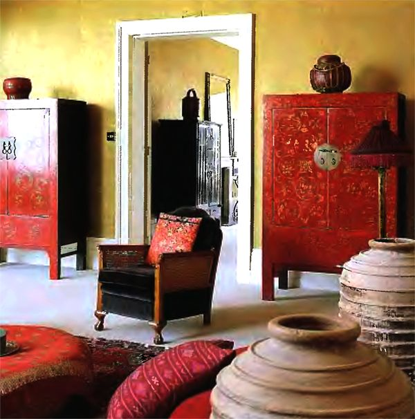 Asian room color add red pinterest for Asian wedding room decoration