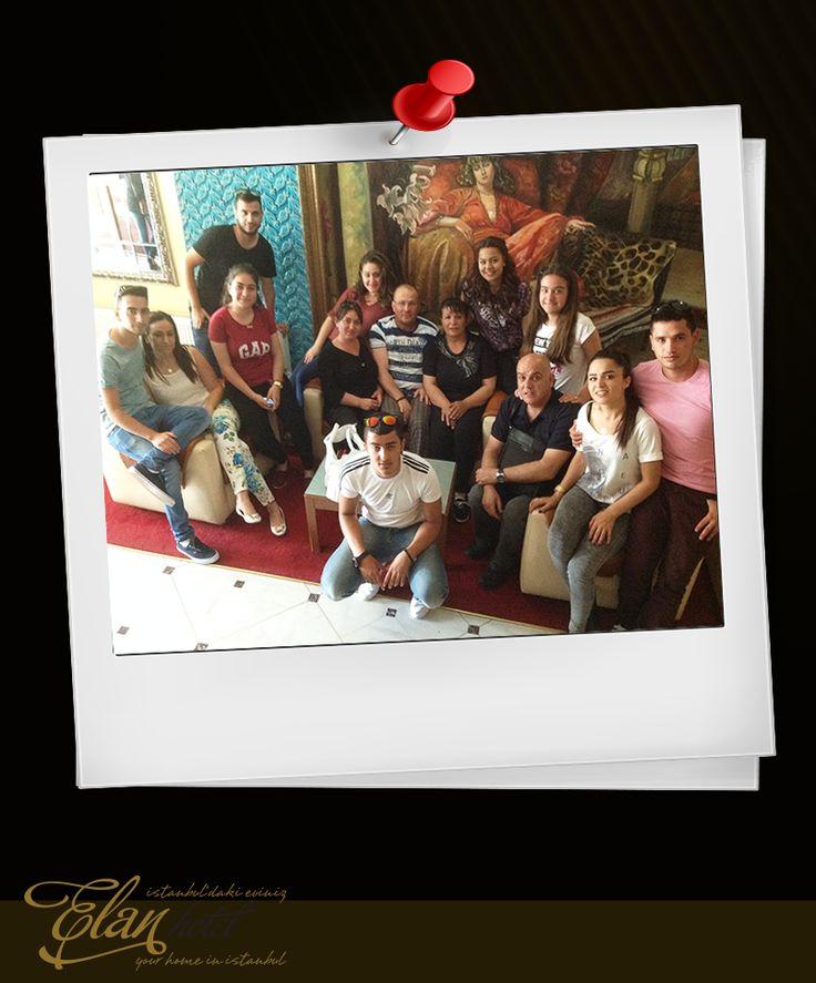 Misafirlerimizden Zehra Caltılı grubuna bizlerle paylaştıkları bu güzel anı için teşekkür ediyoruz. Otelimize neşe kattılar :)) #elanhotelistanbul #elanhotel #istanbul #taksim #beyoğlu