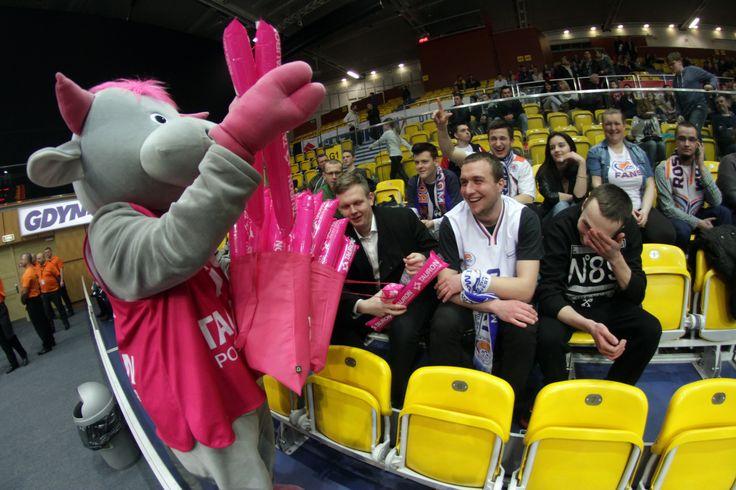 Tauronek podczas Gdynia Basket Cup, fot. Andrzej Romański