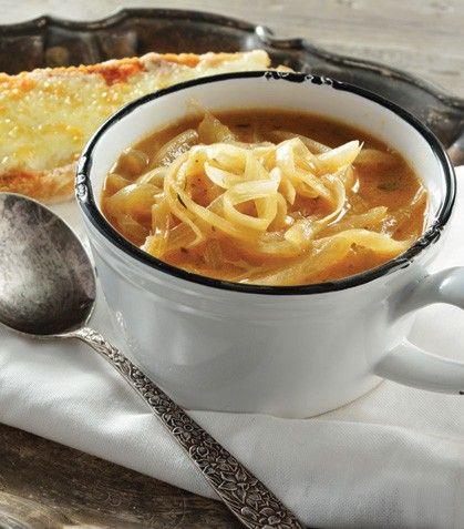 Aprende a preparar tu propia sopa de cebolla.