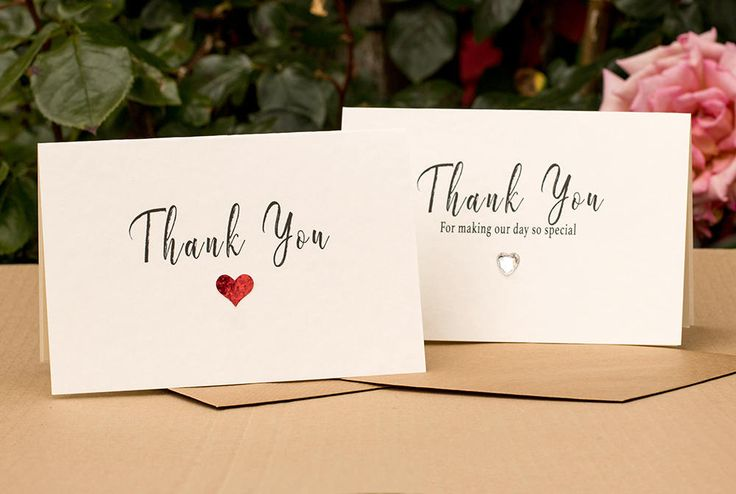 Luxury Parchment Wedding Thank You Card with Luxury Paper Insert. Elegant, Minimalist Thank You Card, Bride and Groom Thank You. by SBsPrintables on Etsy