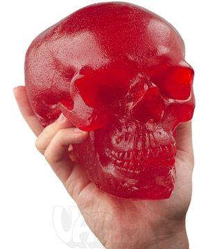 World's Largest Gummy Skull: A 5-pound edible candy cranium ($39.99)