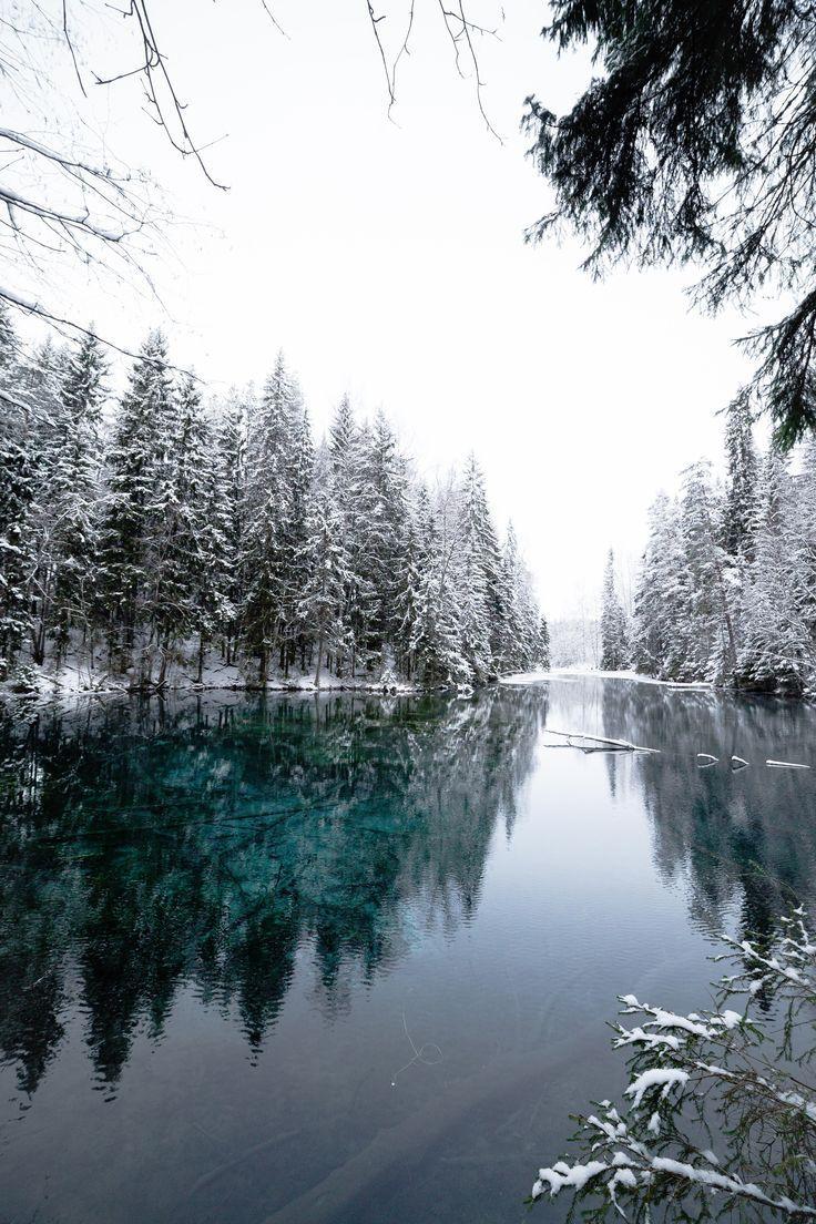 Winter vibes at Kiikunlähde Hollola Finland [OC] …