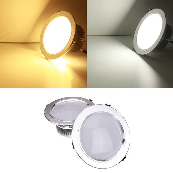 18W LED Ceiling Spotlight Recessed Lamp Dimmable 220V + Driver