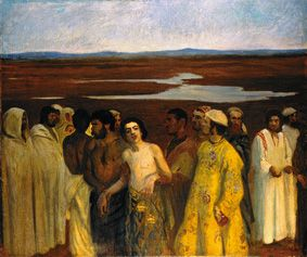 Károly Ferenczy-Joseph is sold by his brothers to Egypt