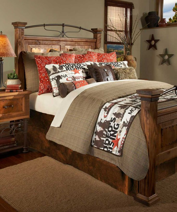 Cowboy Rodeo Bedding