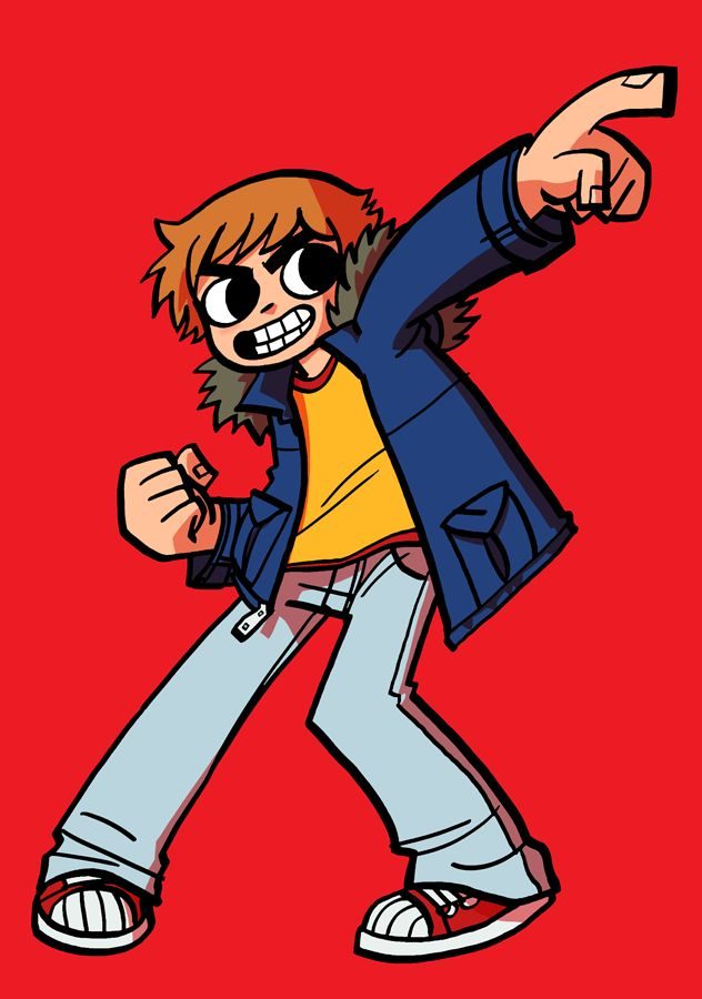 Just finished reading the whole Scott Pilgrim series. And it was FANTASTIC.