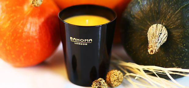 Bahoma Vanilla Parfait candle