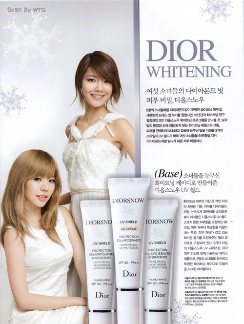 Sunny and Sooyoung @ Dior Products