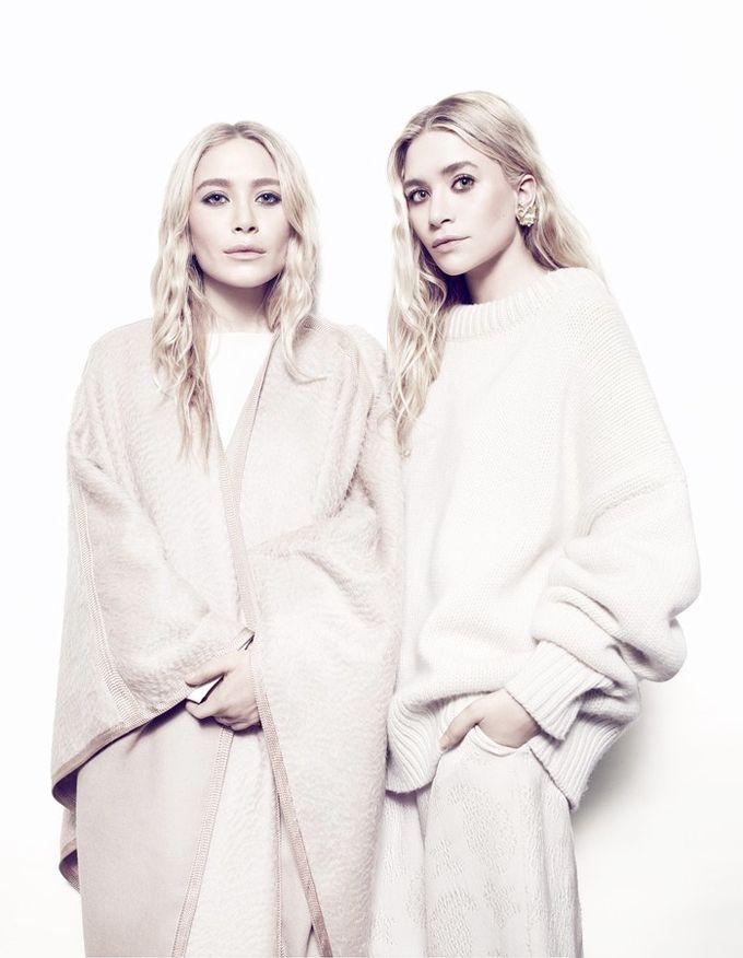 Мэри-Кейт и Эшли Олсен для Net-a-Porter (Интернет-журнал ETODAY)