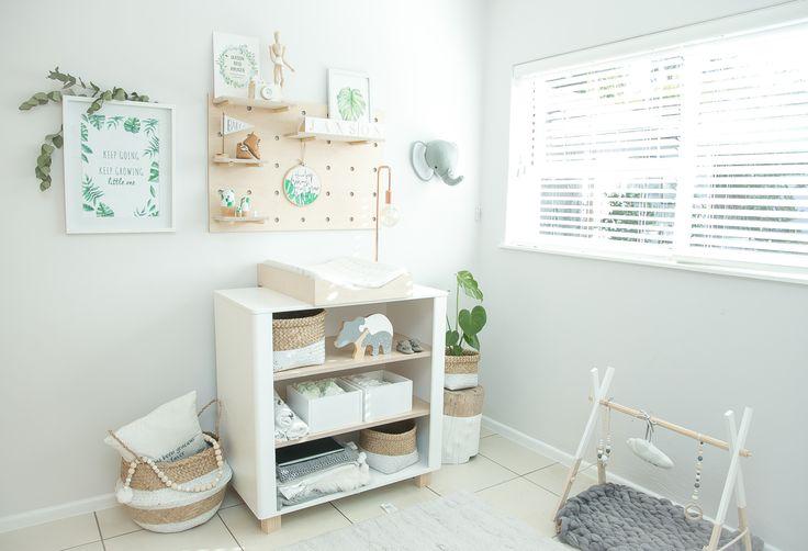 Baby Jaxon's nursery on Lovilee Blog today
