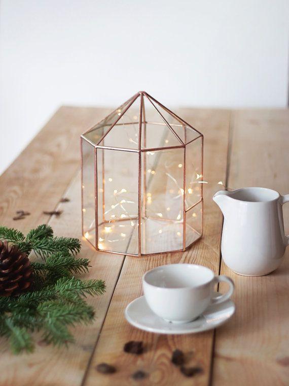 Conservatorium middelpunt, Kerstmis tabel Decor, geometrische Fairy tuin plantenbak, Glass Terrarium, overdekte kas, carrousel Planter