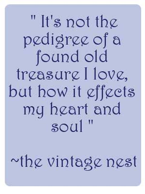 The Vintage Nest: Share Your Style Party #51 ~ A welcome