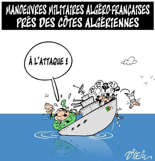Caricature dilem du 27 avril 2015 : Toute l'actualité sur liberte-algerie.com