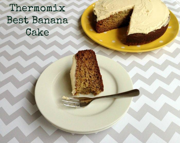 Thermomix Best Banana Cake