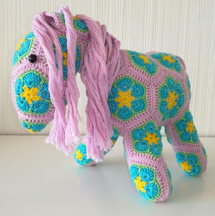 African flower horse