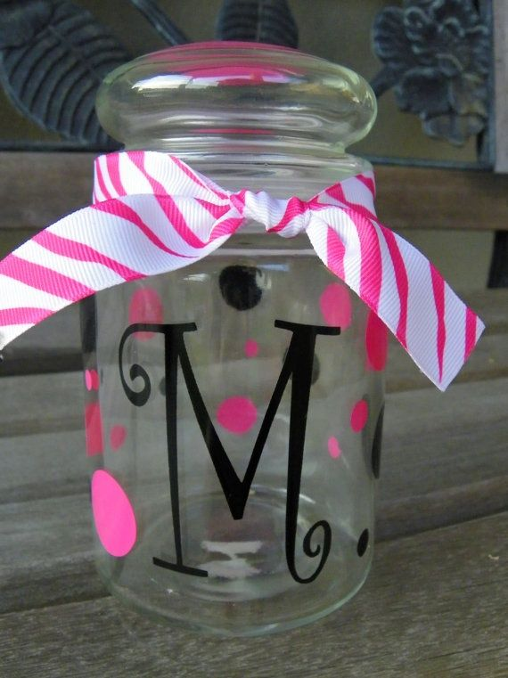 love candy dish | personalized candy dish | Cricut ideas