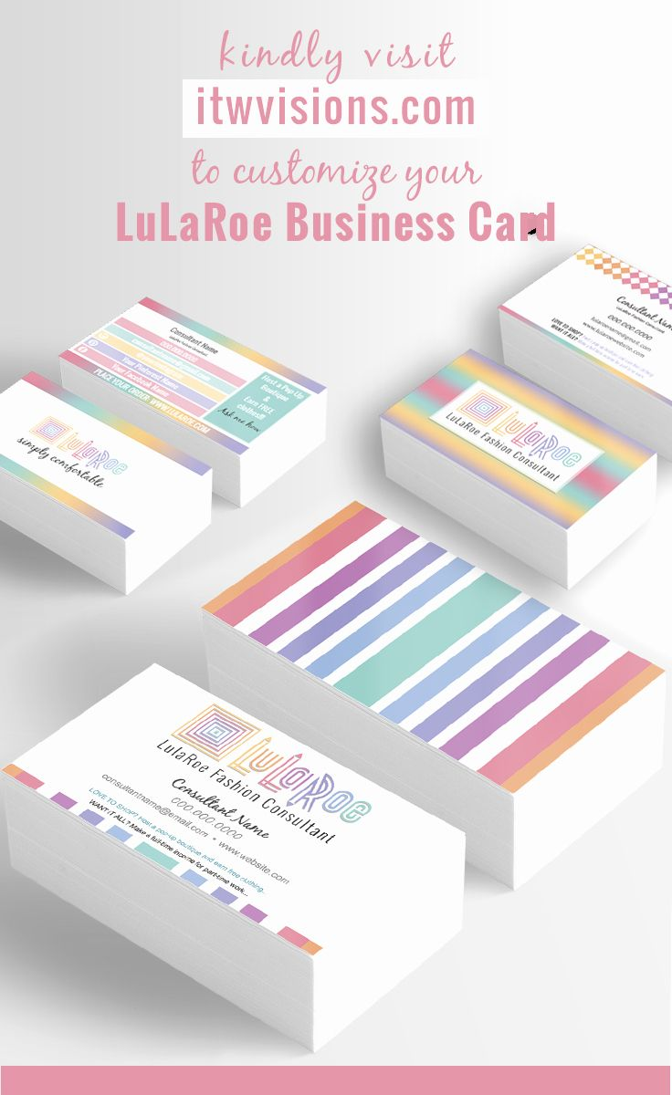 Lularoe Business Card Template Layered Psd No 18 Retro Rainbow Ornament Home Black Version Offic Lularoe Business Cards Rainbow Ornaments Custom Business Cards