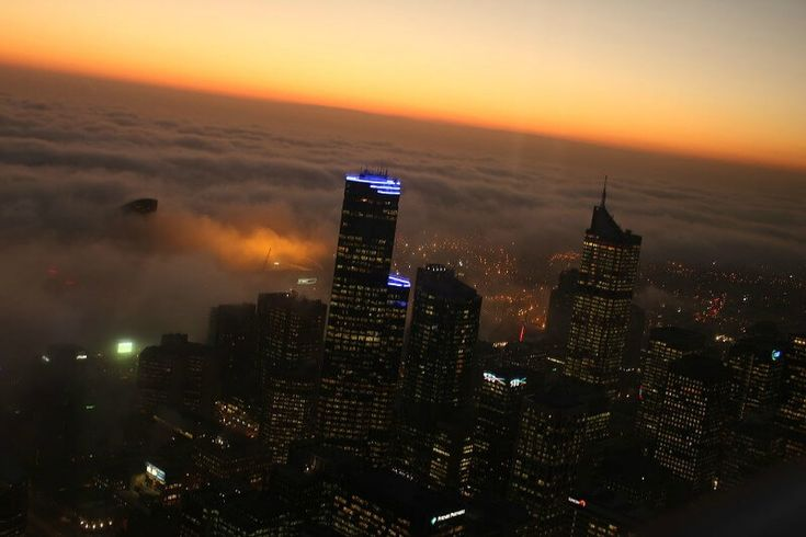 Fog flowing into the Melbourne CBD compliments of David Dusink from Australia (Amazing Fog) [CC BY-SA 2.0 (http://creativecommons.org/licenses/by-sa/2.0)], via Wikimedia Commons